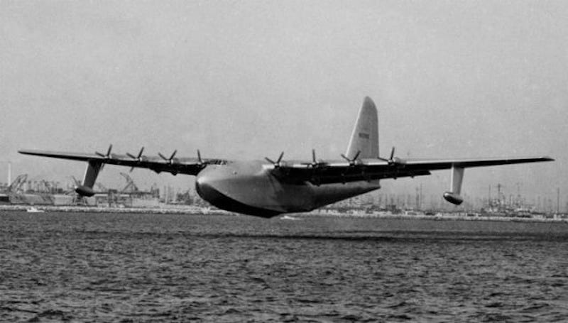 Illustration for article titled Just how big was the Spruce Goose?