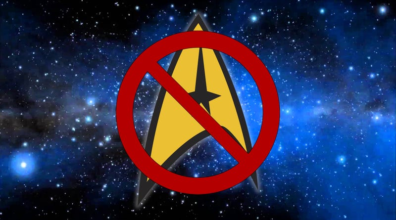 Illustration for article titled Flouncing Trek. (or: 'Why I have to boycott Star Trek, CBS and Paramount Intellectual Property for the forseeable future.')