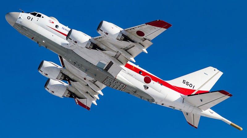 Japan S Totally Original Maritime Patrol Jet Is Hunting
