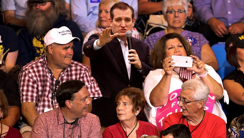 Illustration for article titled Ted Cruz Stuck In Nosebleed Seats At Senate Campaign Rally