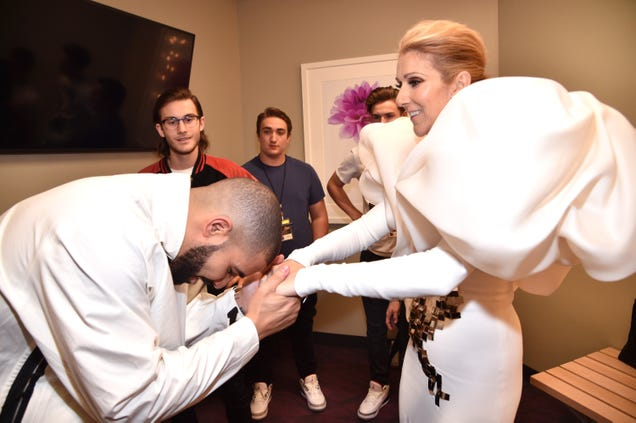 Celine Dion issues heartfelt plea, begging Drake not to get a tattoo of her face