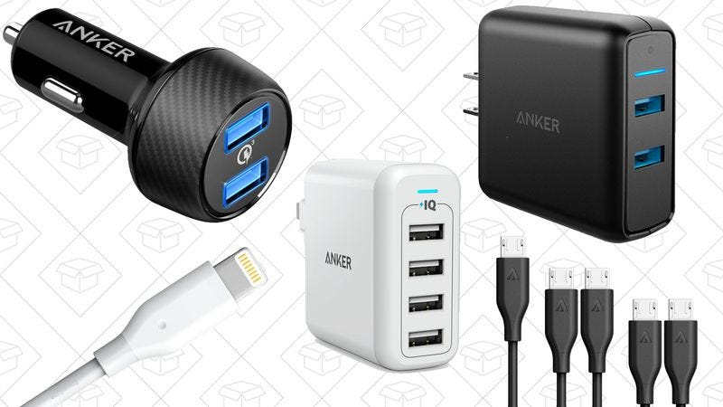 Illustration for article titled Today's best deals: Amazon Dash Wand, Anker chargers, and more