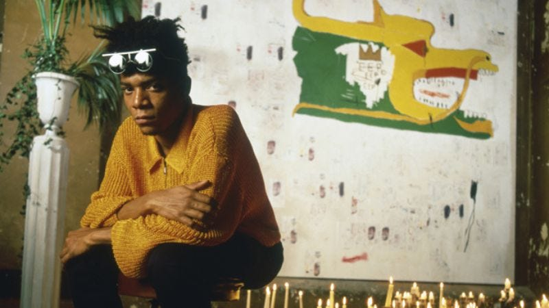 Illustration for article titled Jean-Michel Basquiat: The Radiant Child