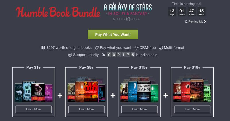 Humble Sci-Fi & Fantasy Ebook Bundle