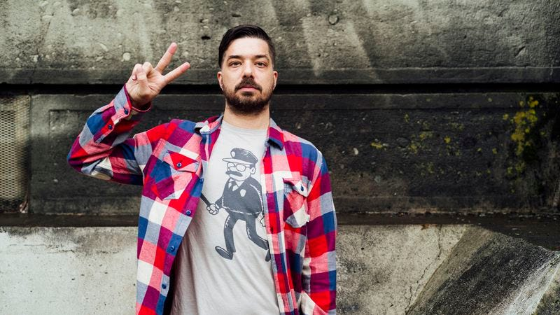Illustration for article titled Aesop Rock blends the personal and abstract on The Impossible Kid