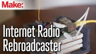 Rebroadcast Internet Radio on FM with a Raspberry Pi