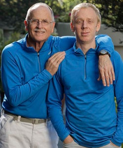 Illustration for article titled Writer/Actor Mike White & Dad Join Amazing Race