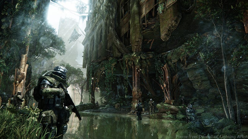 Illustration for article titled These Leaked Crysis 3 Screenshots Take You Into the Green Hell of Manhattan
