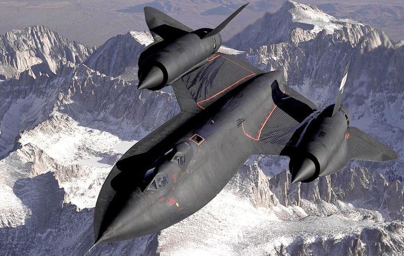 Avión Lockheed SR-71 (Blackbird) / Wikimedia.
