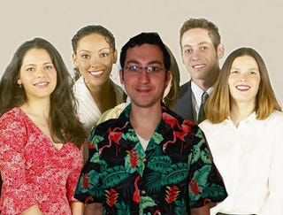 Illustration for article titled Unemployed Man Photoshops Self Into Former Company's Staff Photo