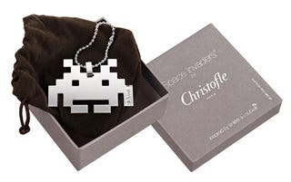Illustration for article titled Space Invaders Rendered In Fine French Silver