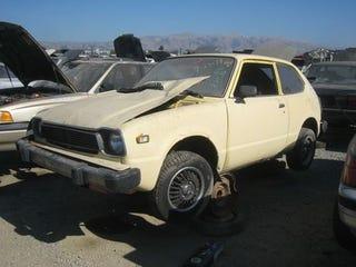 Illustration for article titled 1978 Honda Civic Down On The Junkyard