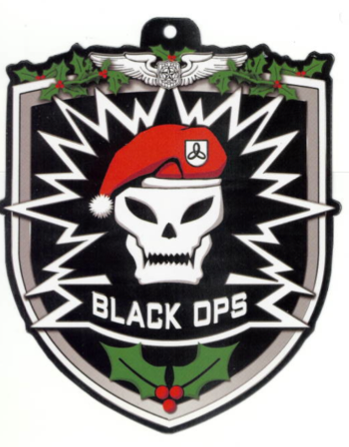 Make Your Own Black Ops Christmas Ornament