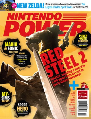 Illustration for article titled Nintendo Power Unsheathes Red Steel 2, Wii MotionPlus Support