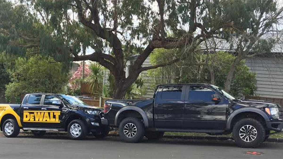 Heres How The New Ford Ranger Really Compares In Size To An F 150 1955 F100 Side View