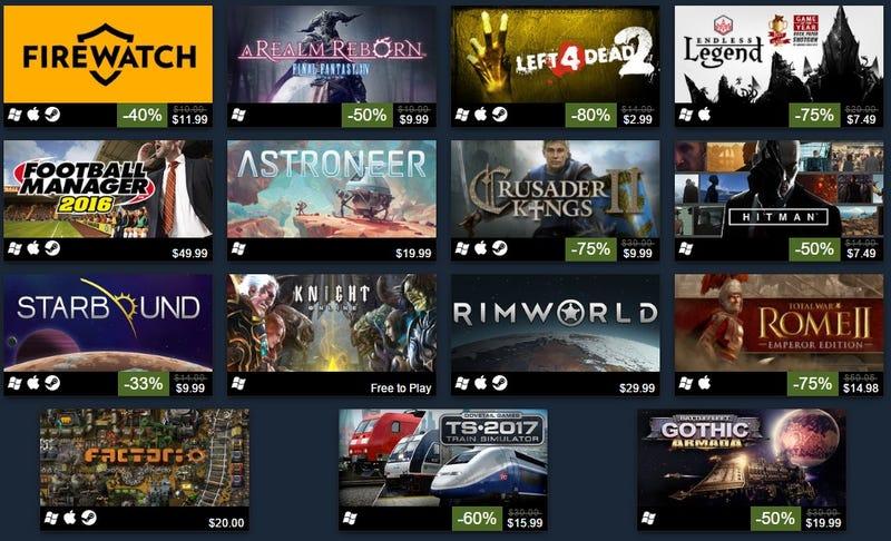 Estos fueron los 100 juegos más vendidos en Steam 2016