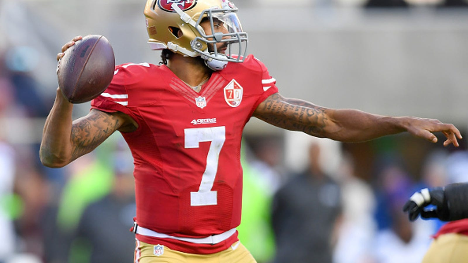 9f5c3aeacf2 Colin Kaepernick s Jersey Donated to the National Museum of African  American History and Culture