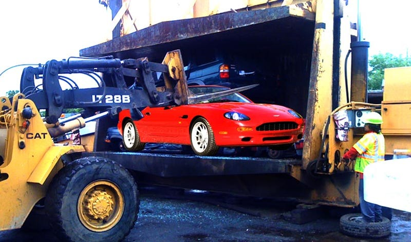 Illustration for article titled Ten Most Exotic Cars Destroyed By Cash For Clunkers