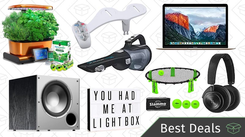 Illustration for article titled Thursday's Best Deals: MacBooks, Over-Ear Wireless Headphones, Warm Water Bidet, and More