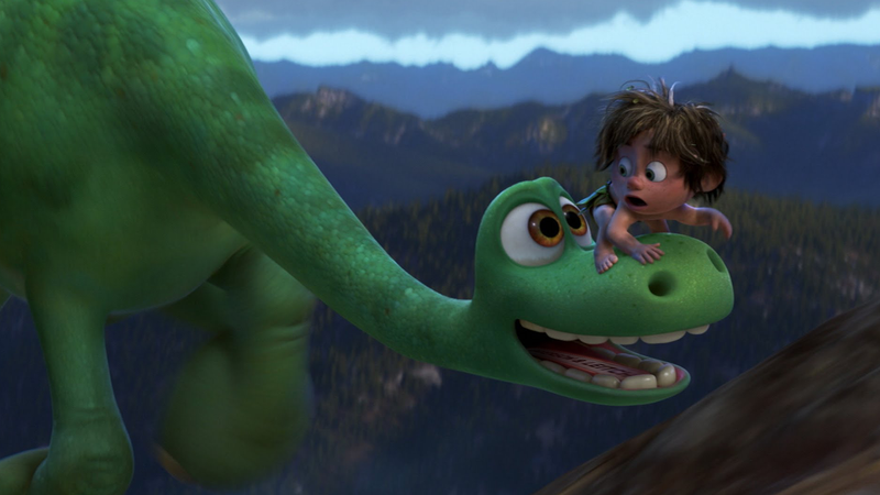 Illustration for article titled The Good Dinosaur's Visual Grandeur Makes Up For Its Lack Of Wit