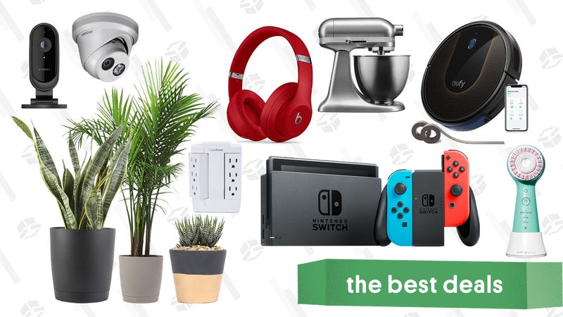 Illustration for article titled Thursday's Best Deals: Beats Studio 3, Clarisonic, Nintendo Switch, and More