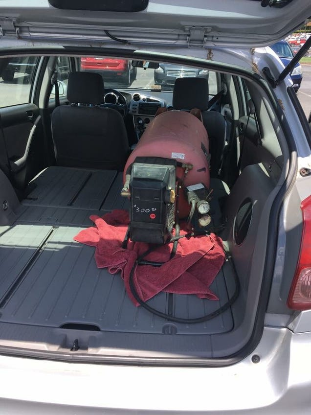 Inside, The Trunk Space Is Enormous. The Floor Of The Trunk, As Well As The  Backs Of The Rear Seats (which Fold Flat) Are Hard Plastic, Which Is Great  For ...