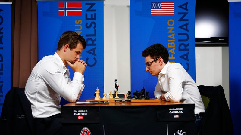 Illustration for article titled Magnus Carlsen And Fabiano Caruana's Fight For The World Chess Championship Is Going To Be So Fun