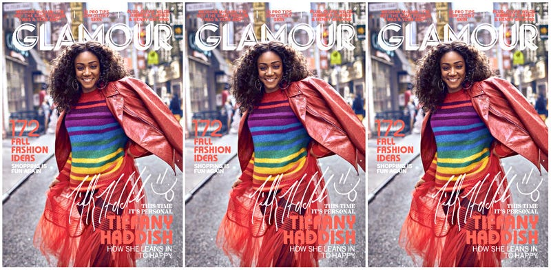 Illustration for article titled She's So Colorful: Tiffany Haddish Covers Glamour's September Issue!