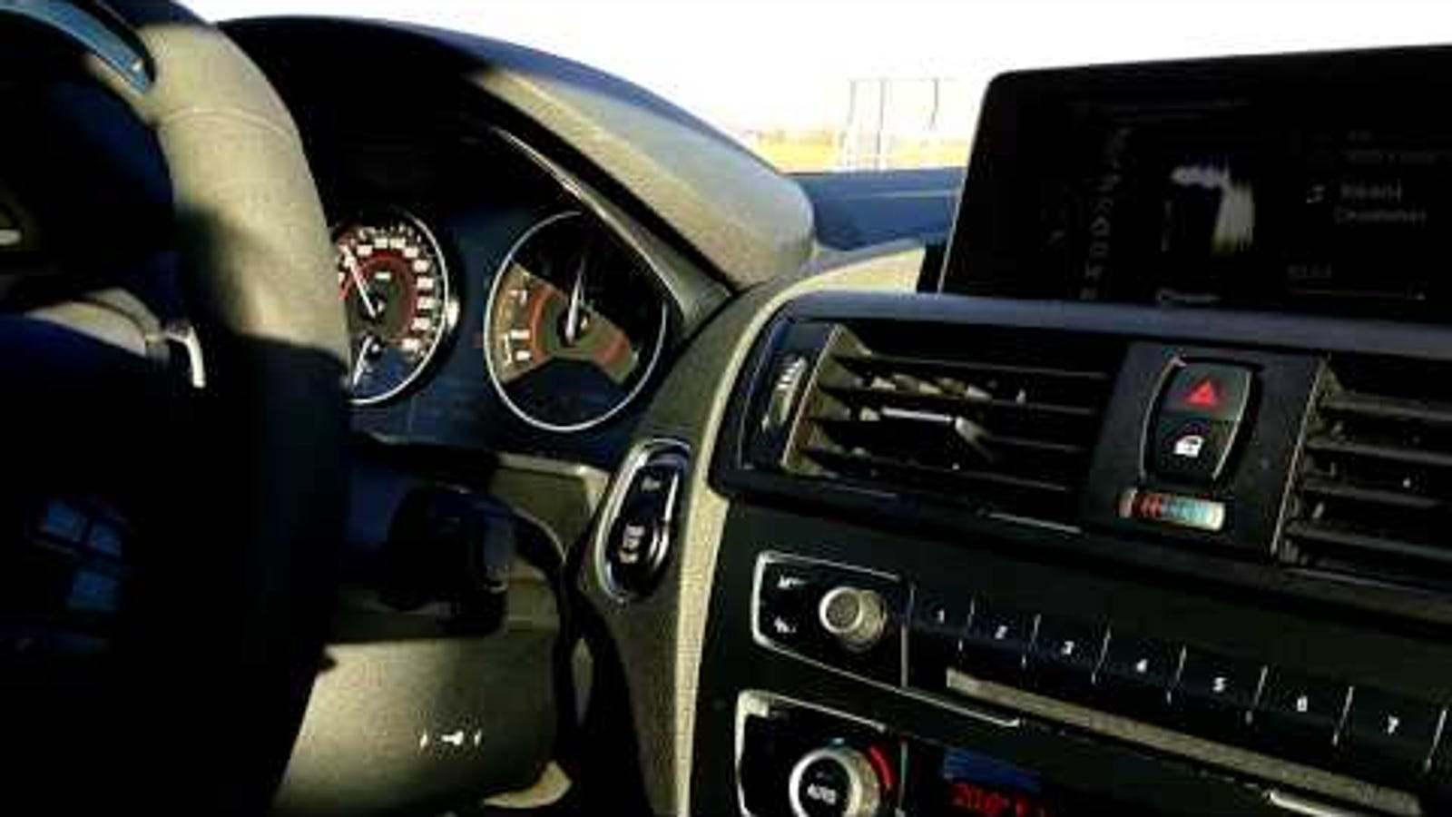 someone hacked their bmw m135i to sound like an m4. Black Bedroom Furniture Sets. Home Design Ideas