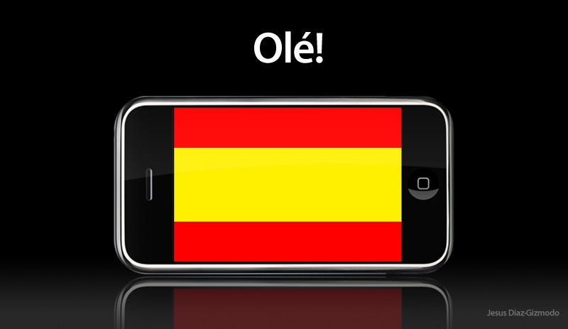 Illustration for article titled iPhone Officially Coming to Spain