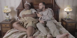 "A scene from the ""Harriet Tubman Sex Tape"" (YouTube)"