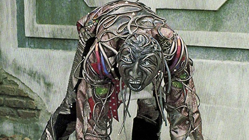 A Wheeler makes its horrific arrival in Return to Oz, a movie for children.