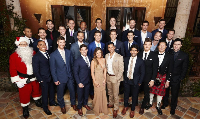 Illustration for article titled The New Bachelorette Contestants Love Gladiator, Mark Cuban, and Themselves