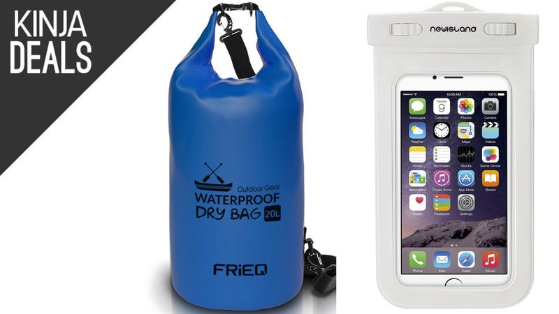 Illustration for article titled Keep Your Gadgets Safe at the Beach With These Discounted Dry Bags