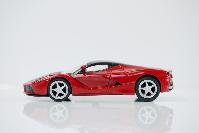 Illustration for article titled Kyosho Ferrari 9 1/64 #74 - Project Prancing Horse #74 - 2013 Ferrari LaFerrari