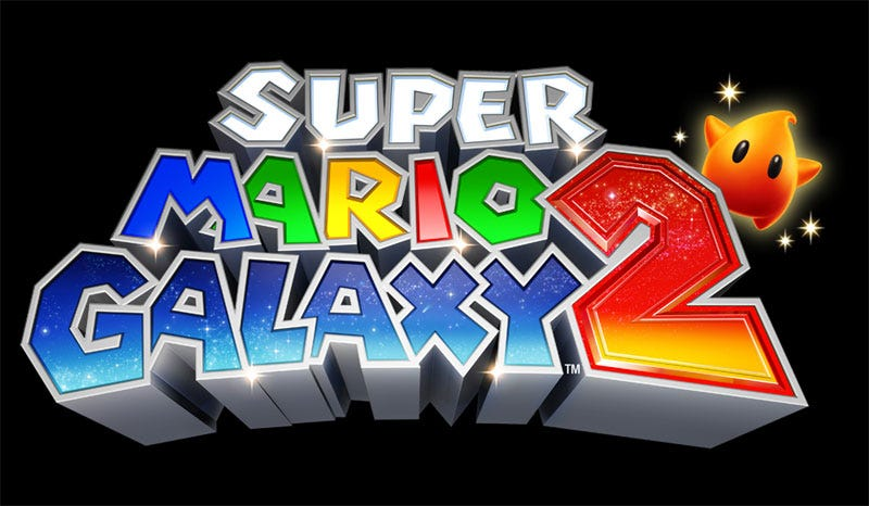 Illustration for article titled Super Mario Galaxy 2 Logo Has A Little Friend