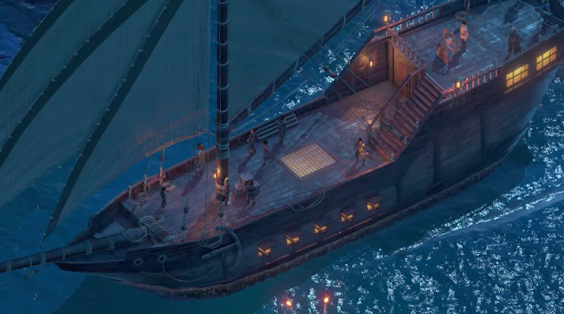 Illustration for article titled Pillars of Eternity II Lets You Run Your Own Pirate Ship