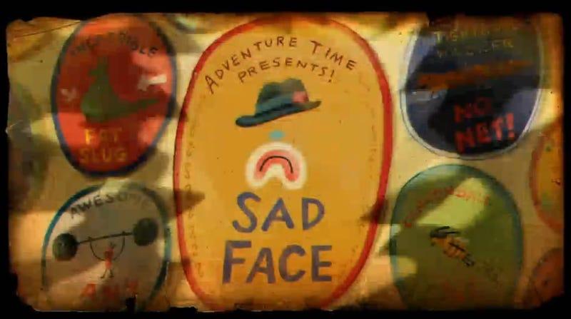 "Illustration for article titled Adventure Time Recap - ""Sad Face"""