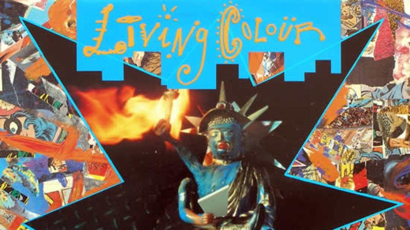 Illustration for article titled One of Living Colour's hits illustrates an era in transition