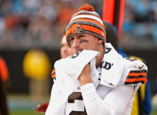 Illustration for article titled Johnny Manziel Is In Rehab