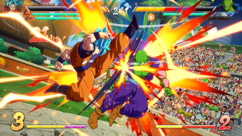Illustration for article titled Dragon Ball FighterZ Has Been Mysteriously Pulled From Multiple Fighting Game Events
