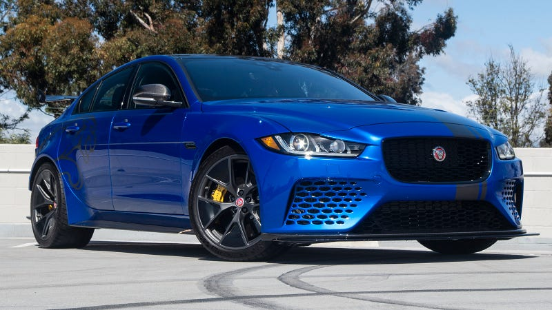 Illustration for article titled What Do You Want to Know About the Absurdly Powerful Jaguar XE SV Project 8?
