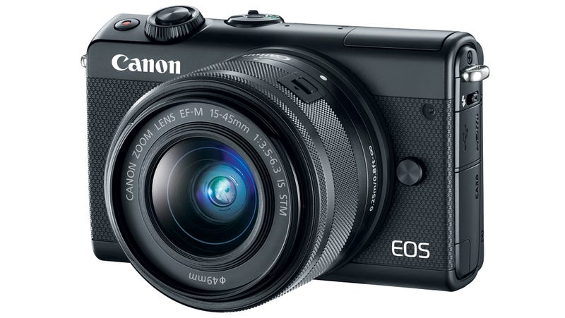 Illustration for article titled Canon's EOS M100 Is Another Apathetic Attempt at a Mirrorless Camera