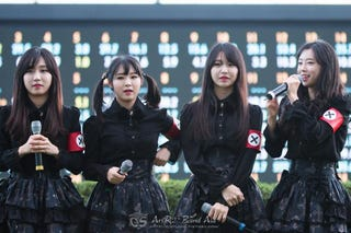 Illustration for article titled K-pop Group Wears Nazi-Like Uniforms, Controversy Ensues [Update]