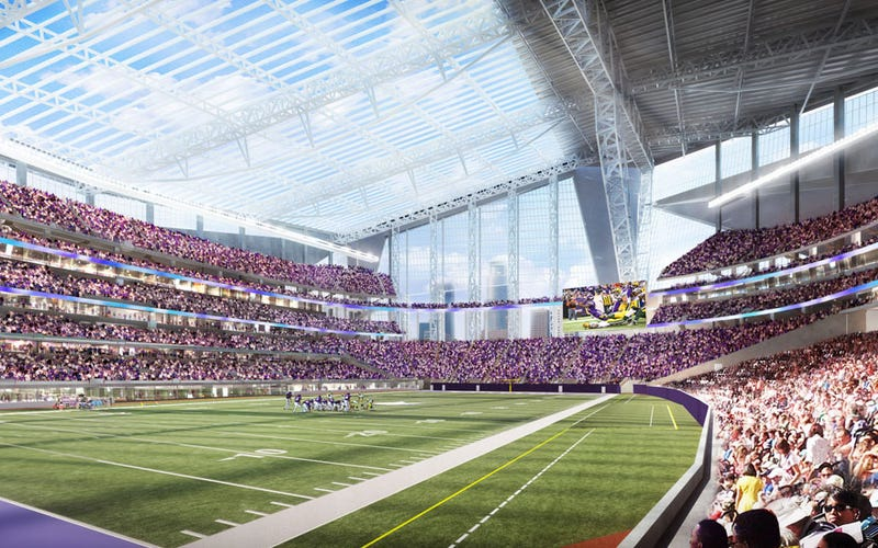 "Illustration for article titled Audubon Society Calls New Vikings Stadium ""A Death Trap"" For Birds"