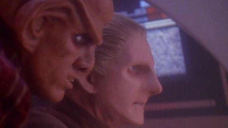 """Illustration for article titled Star Trek: Deep Space Nine: """"The Ascent""""/""""Rapture"""""""