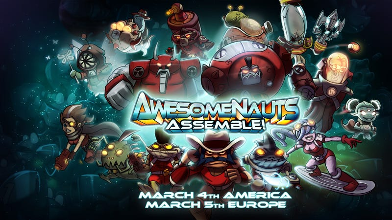 Illustration for article titled Awesomenauts: Assemble! now available on PS4