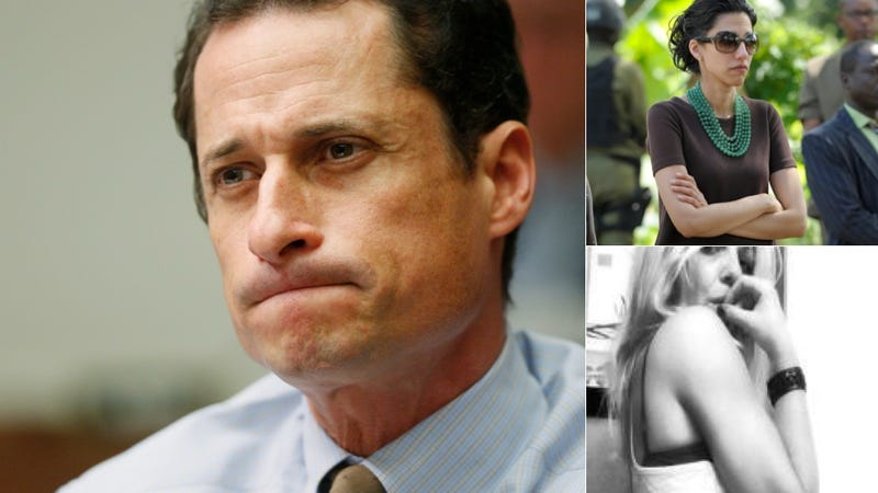 Illustration for article titled Anthony Weiner Sexting Partner Releases Highly-Necessary Humiliating Memoir