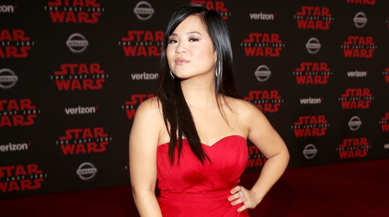 Kelly Marie Tran at The Lest Jedi premiere.