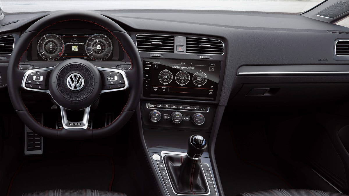 The 2018 Volkswagen GTI Just Got An Incredibly High Tech Interior And Even  More Power